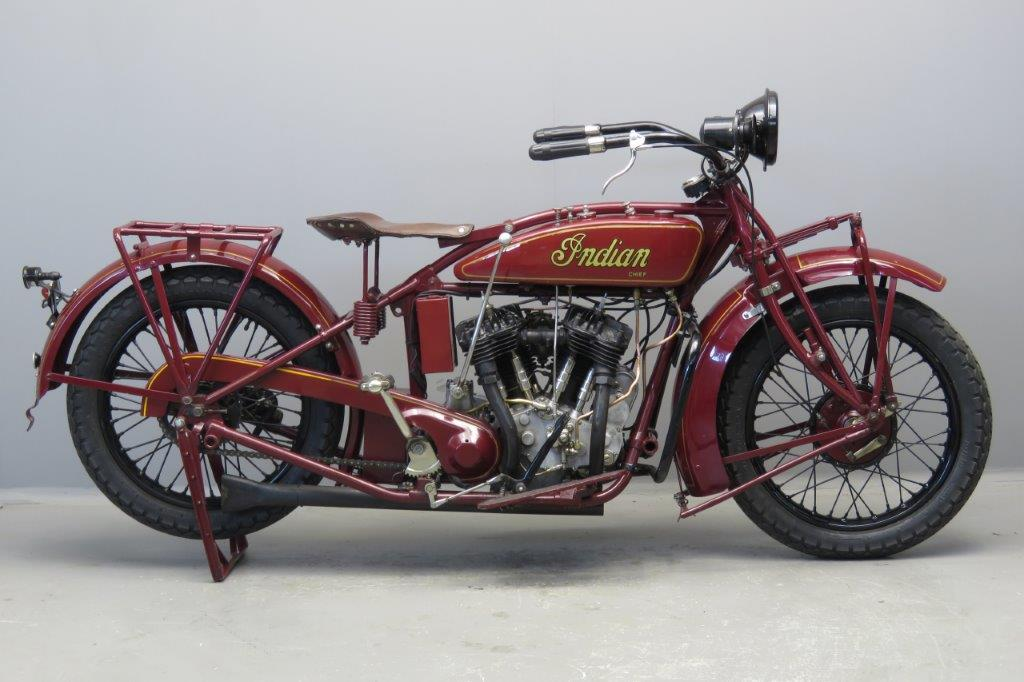 Custom Indian Motorcycle For Sale >> Indian 1928 Big Chief 1200cc 2 cyl sv 2703 - Yesterdays