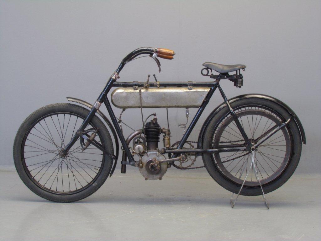 Alcyon 1910 2hp 250cc 1 Cyl Sv Yesterdays