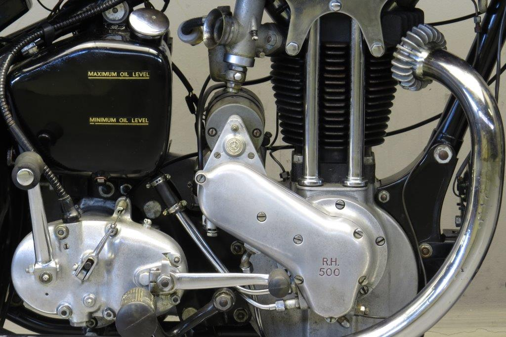 Ariel 1936 Red Hunter 500cc 1 Cyl Ohv Yesterdays