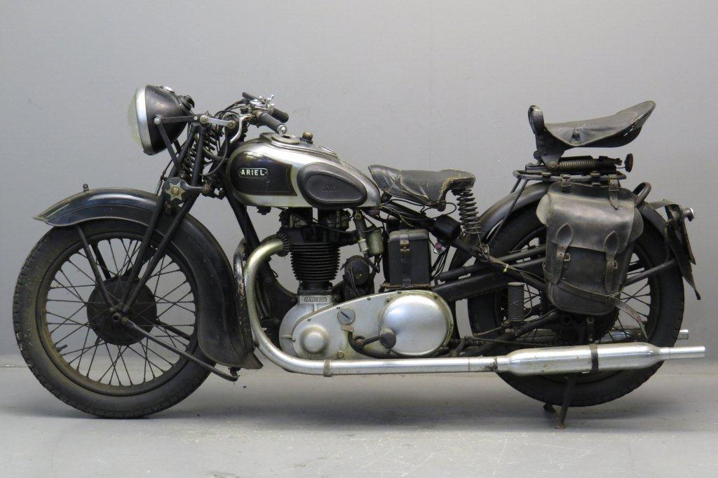 1938 Ariel Square 4 (pic by Todd McLellan) : motorcycles