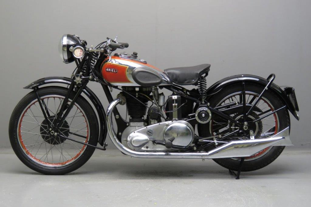 1938 Ariel Red Hunter - We Sell Classic Bikes