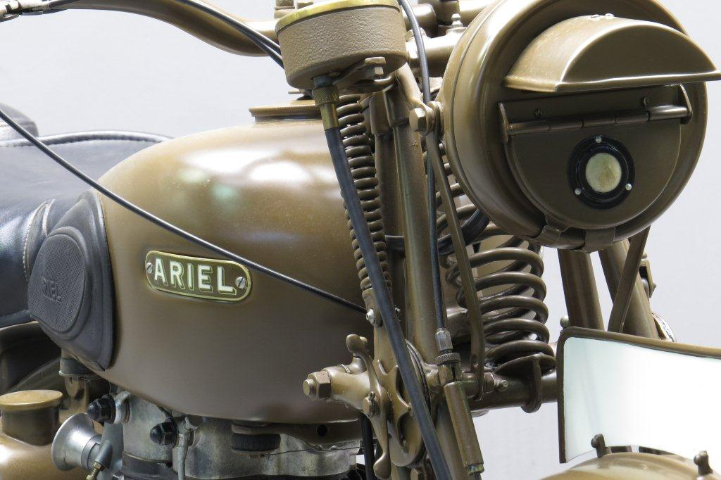 Ariel 1942 w ng 350cc 1 cyl ohv yesterdays for Factor motors le center mn