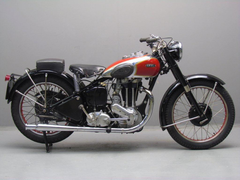 Ariel 1949 Red Hunter 500cc 1 cyl ohv - Yesterdays