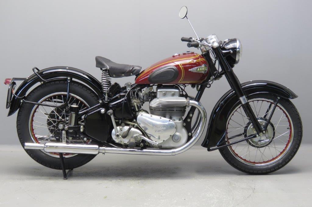 Histoire de la moto. Ariel-1952-F4-2612-1