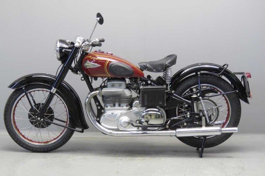 Ariel 1952 Square Four Mk1 1000cc 4 Cyl Ohv 2612
