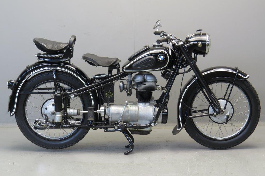 bmw 1952 r25 2 250cc 1 cyl ohv yesterdays. Black Bedroom Furniture Sets. Home Design Ideas