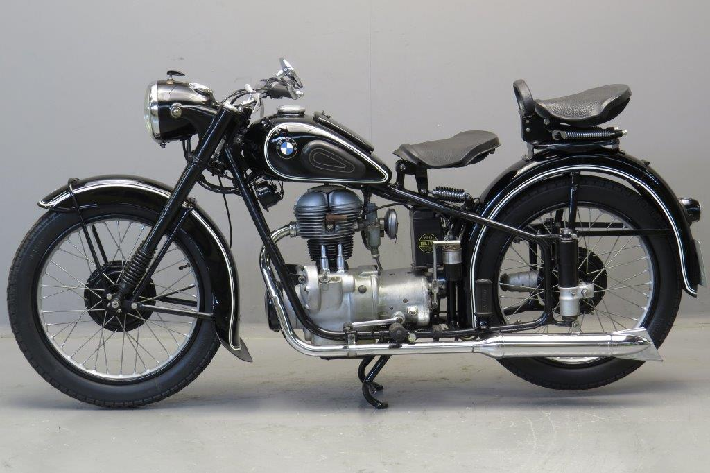 BMW 1952 R25/2-250cc 1 cyl ohv - Yesterdays