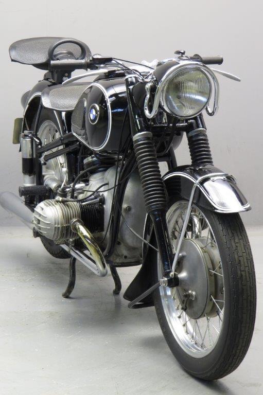Bmw 1954 R51 3 490cc 2 Cyl Ohv Yesterdays