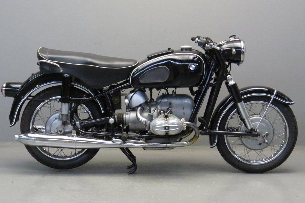 bmw 1965 r69s 600cc 2 cyl ohv - yesterdays