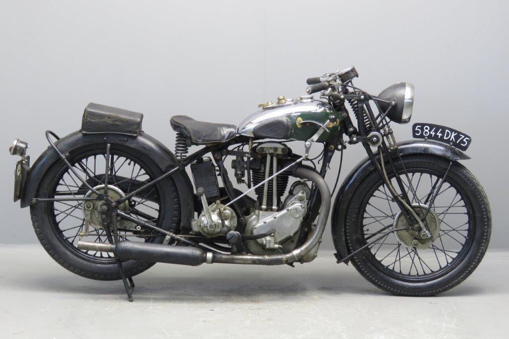 BSA 1932 W32-7 500cc 1 cyl ohv  2702