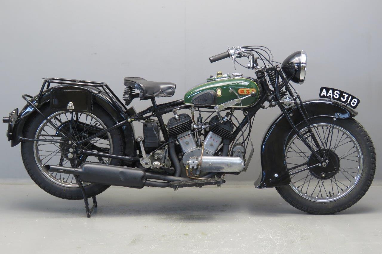 BSA 1933 G33-13 986cc 2 cyl sv 2606