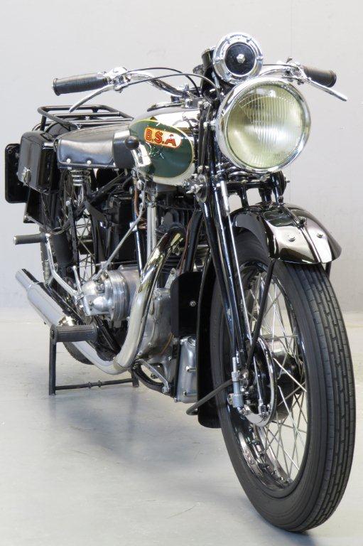 Bsa 1934 W34 8 500cc 1 Cyl Ohv Yesterdays