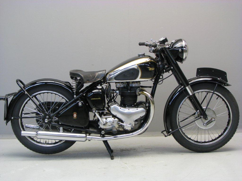 Histoire de la moto. BSA-1948-A7-HA-1