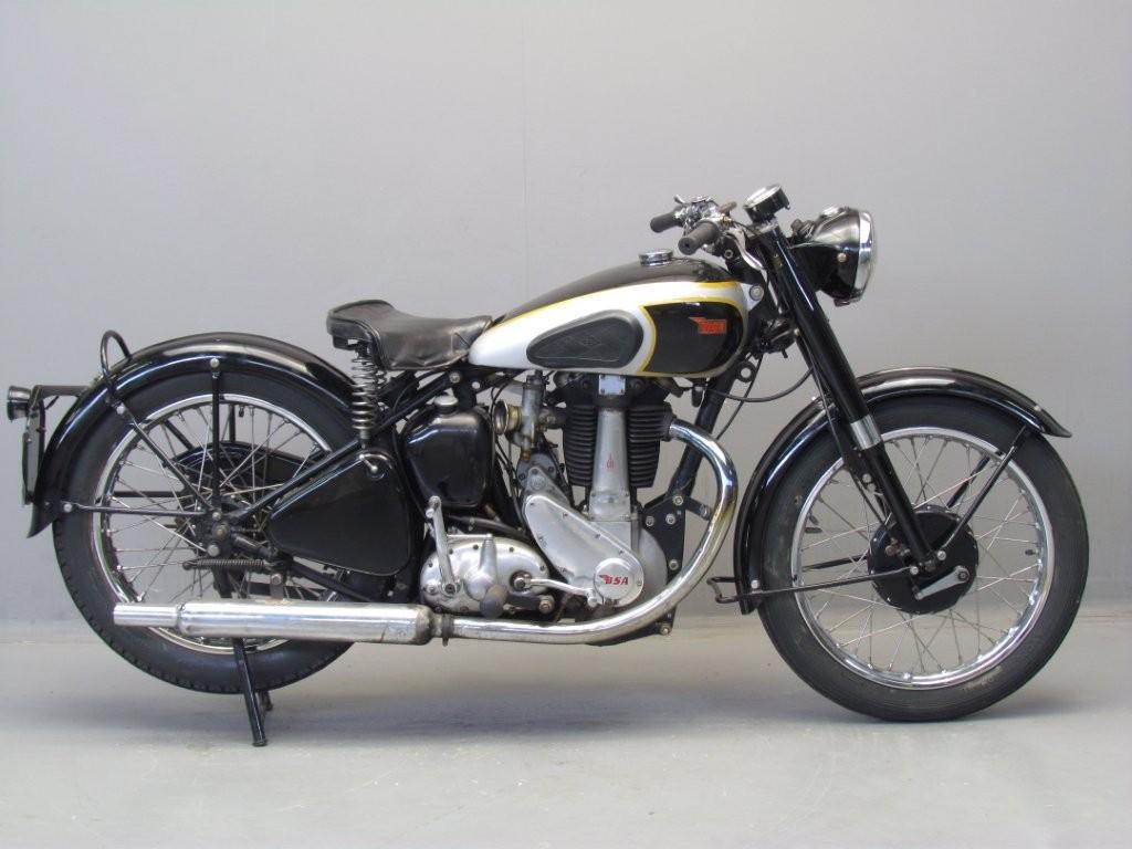 BSA 1952 B33 500cc 1 cyl ohv - Yesterdays