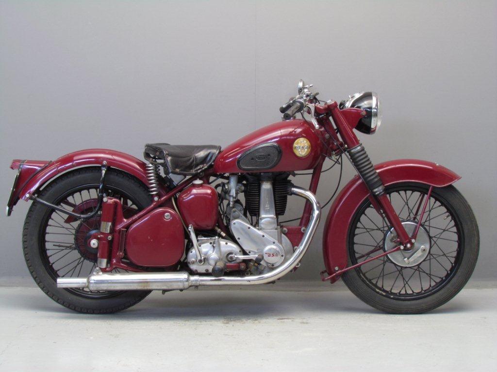 BSA 1954 B31 350 cc 1 cyl ohv
