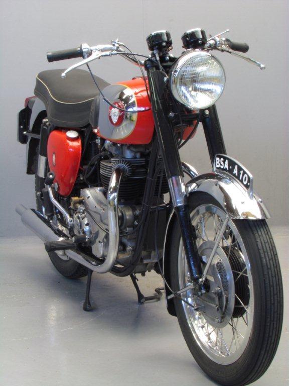 Bsa 1958 A10 Super Rocket 650cc 2 Cyl Ohv Yesterdays
