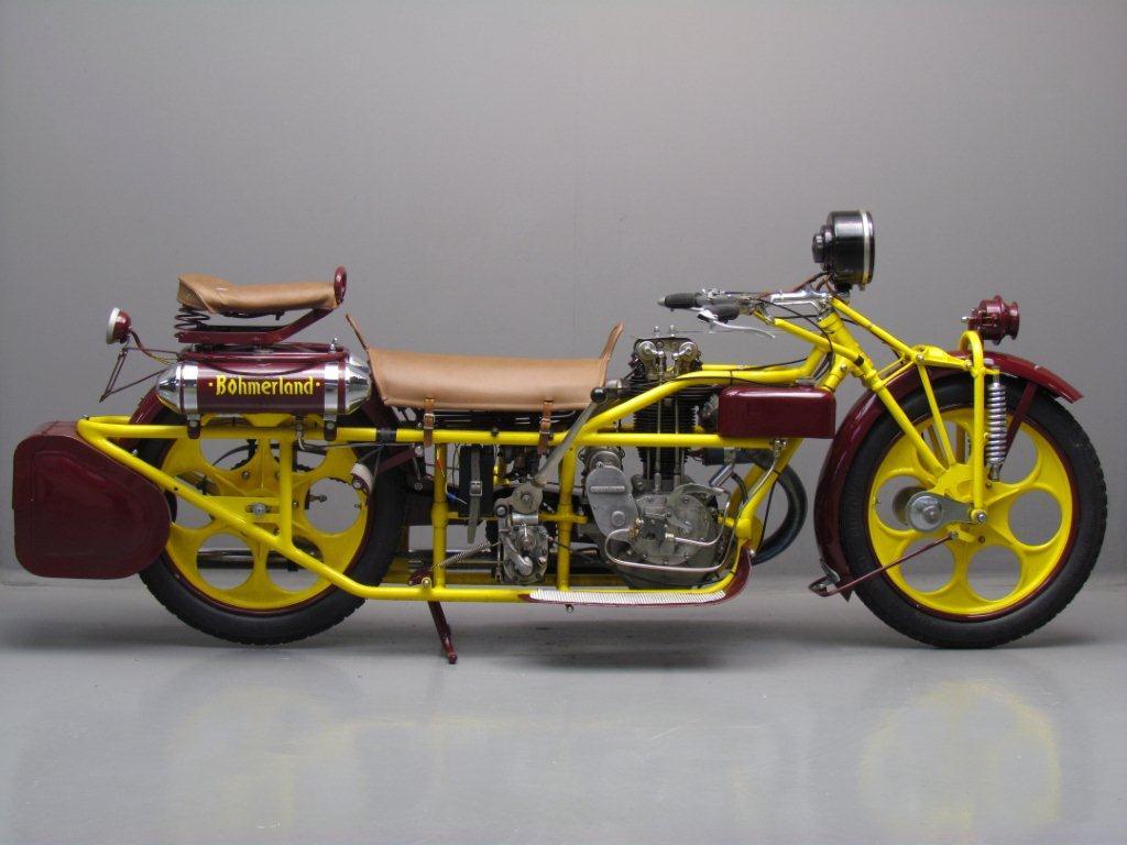 Bohmerland 1936 600cc 1 Cyl Ohv