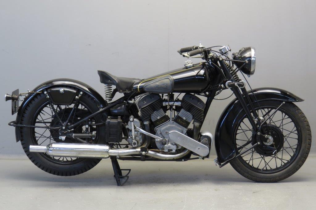 - 1939 Cyl Yesterdays Brough 1150 Superior Sv 1150cc 2 Jap