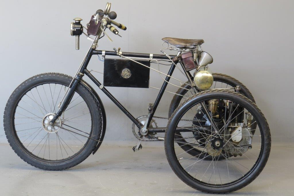 Rochet 1901 De Dion Bouton Engine Tricycle Yesterdays