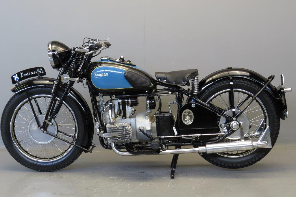 Douglas 1935 Endeavour 500cc 2 cyl sv - Yesterdays