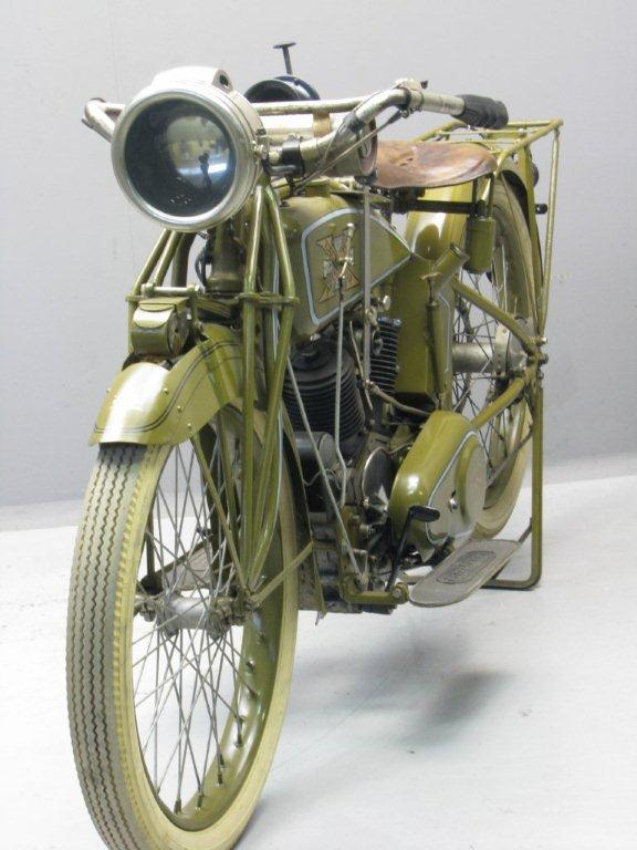 Excelsior 1918 Model 18 1000 Cc 2 Cyl Ioe Yesterdays