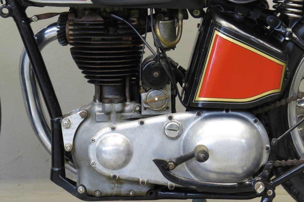 Excelsior 1939 Manxman 500cc 1 Cyl Ohc Yesterdays