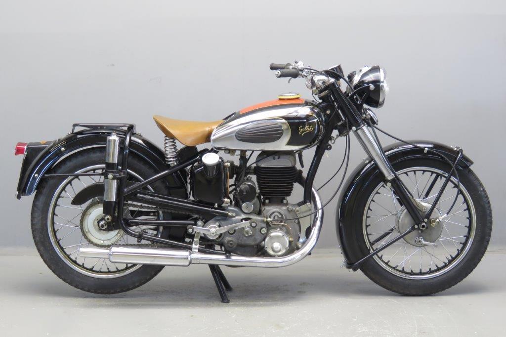Gillet 1951 Estafette 500cc 1 cyl sv 2606 - Yesterdays
