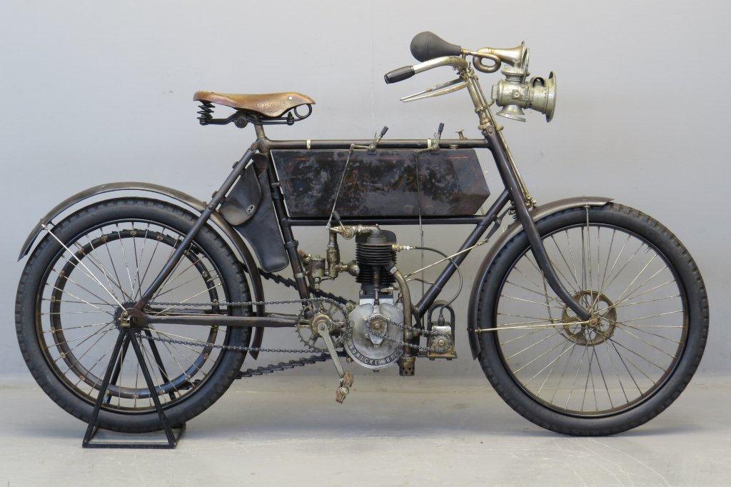 Göricke 1903 400cc 1 cyl aiv