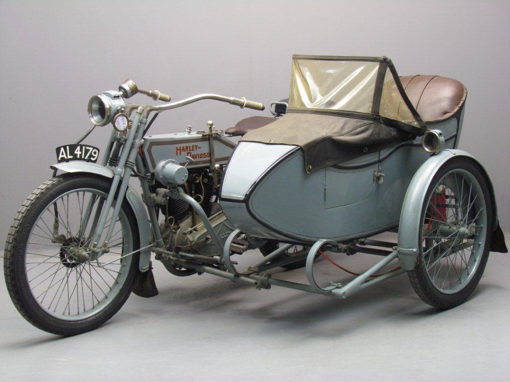 Harley Davidson 1915 11f 988cc 2 Cyl Ioe Yesterdays