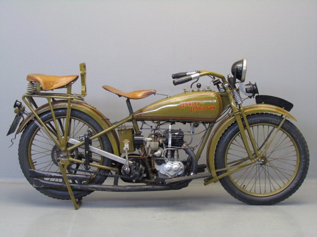 Rare 1928 Harley Model Ba Peashooter Single 350cc: Harley Davidson 1926 26B 350cc 1 Cyl Sv