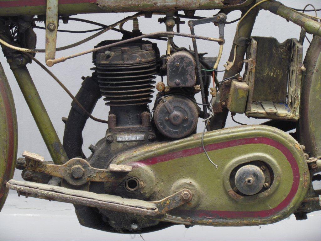 Rare 1928 Harley Model Ba Peashooter Single 350cc: Harley Davidson 1926 26B 350cc 1cyl Sv
