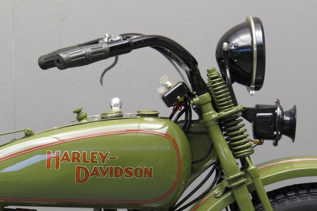 Harley Davidson 1928 28b 350cc 1 Cyl Sv