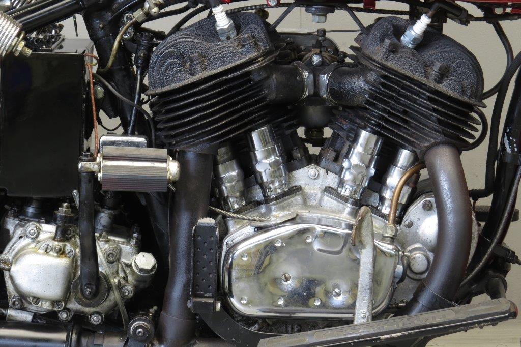 Harley Davidson 1935 35vld 1200cc 2 Cyl Sv Yesterdays