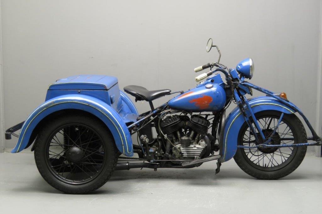 Harley Davidson 1937 Servi Car 750cc 2 Cyl Sv 2706 Yesterdays