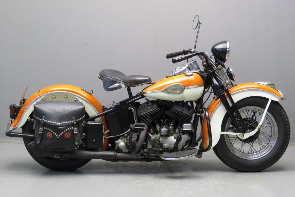 Harley Davidson 1939 U 1200cc 2 cyl sv 2509 - Yesterdays