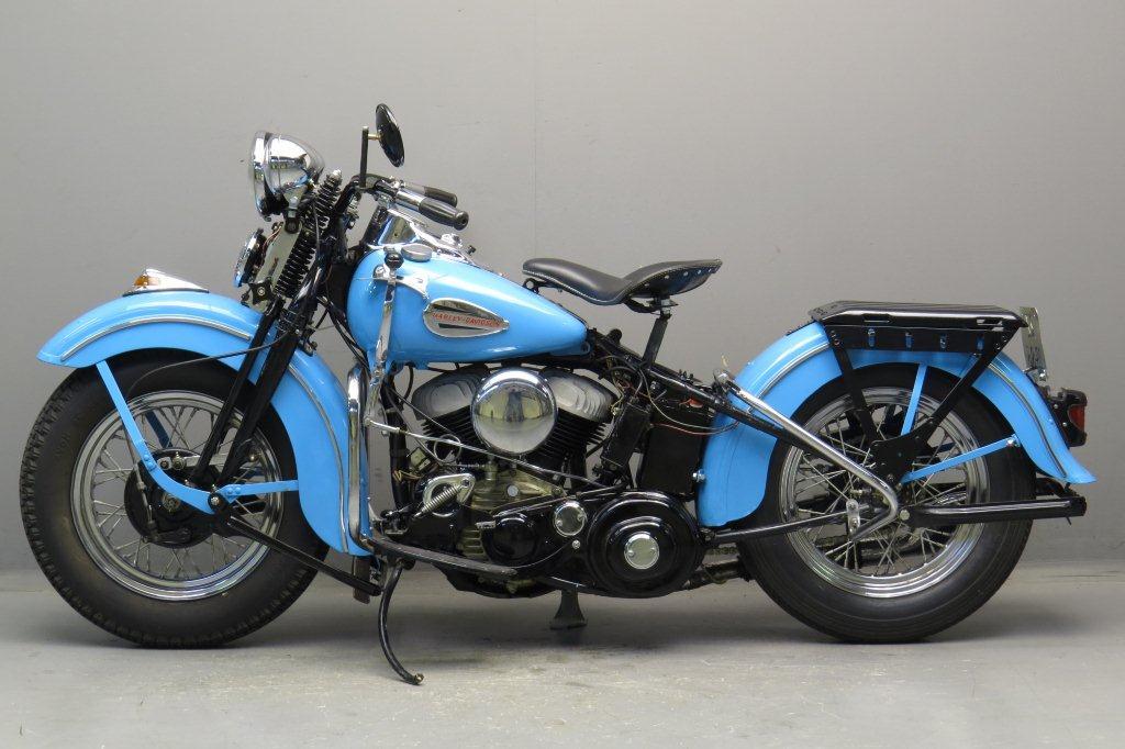 Harley Davidson 1942 Wlc 750cc 2 Cyl Sv Yesterdays