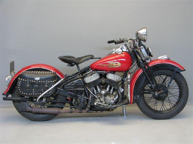 Harley Davidson: Harley Davidson 1942 WLA 750 Cc 2 Cyl Sv