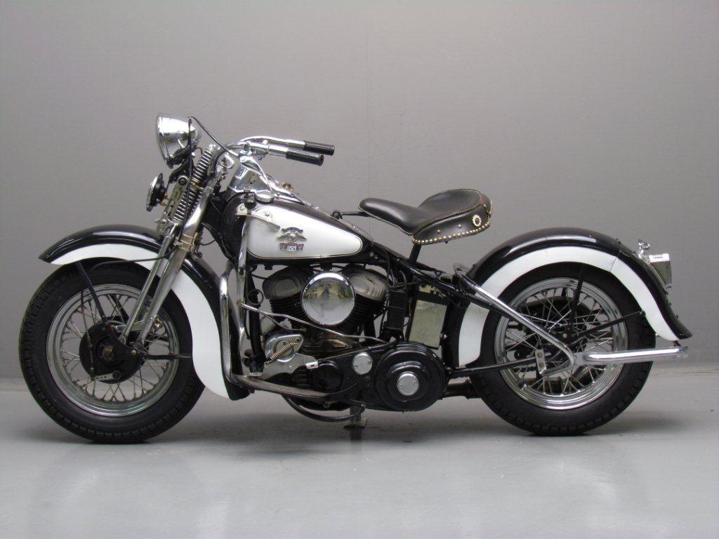 Harley Davidson: Harley Davidson 1943 43WLC 750cc 2 Cyl Sv