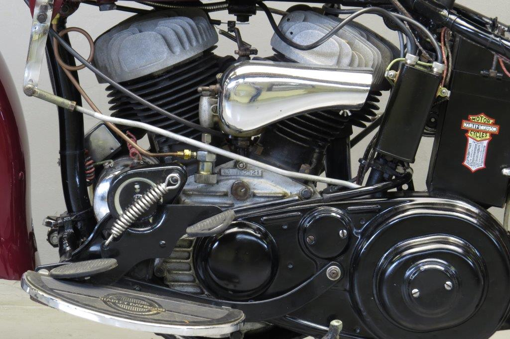Harley Davidson: Harley Davidson 1943 WLC 750cc 2 Cyl Sv