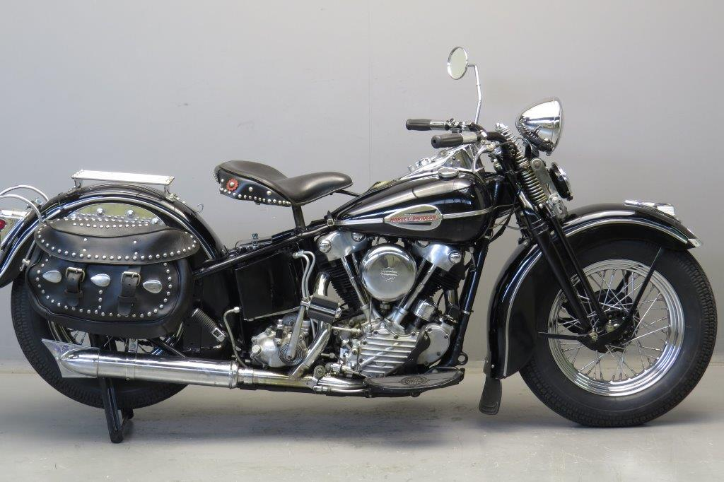 Harley Davidson 1947 EL47 1000cc 2 cyl ohv - Yesterdays