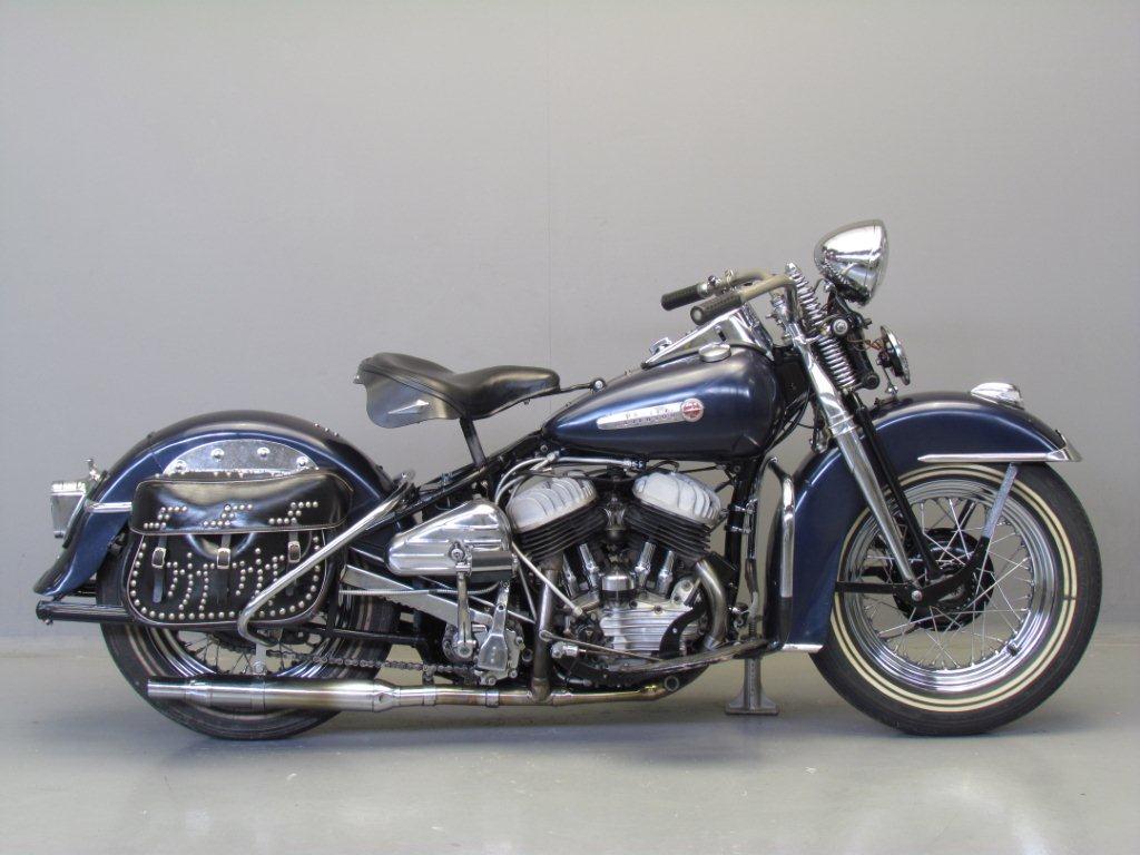 Harley Davidson 1947 47WL 750cc 2 cyl sv - Yesterdays