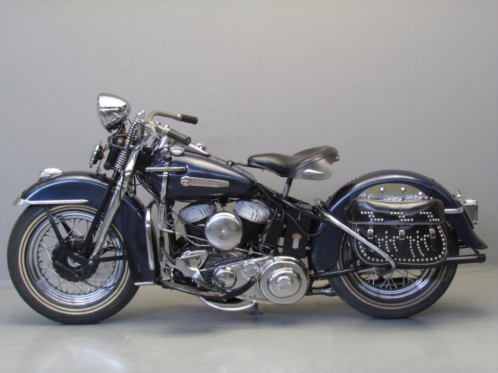 Harley Davidson: Harley Davidson 1947 47WL 750cc 2 Cyl Sv