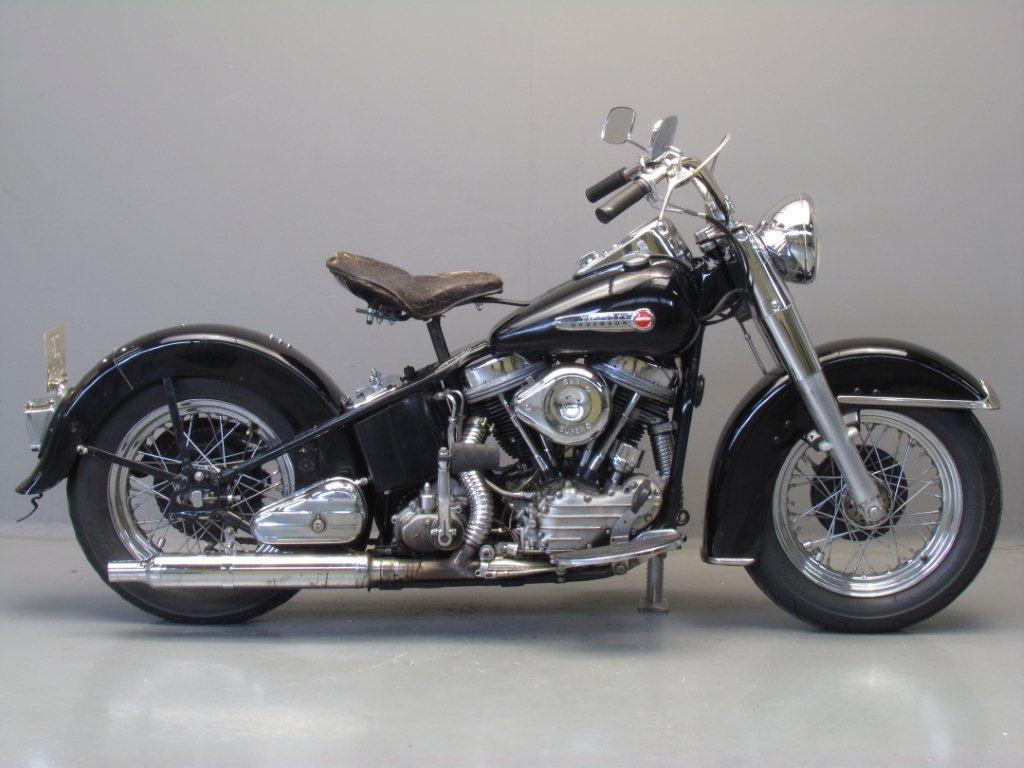 Harley Davidson 1954 Hydra Glide - Yesterdays