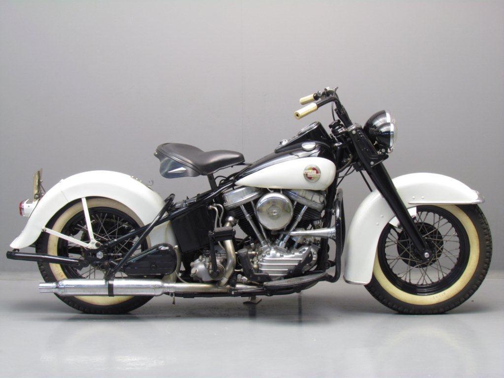 Harley Davidson 1957 Hydra 1200cc 2 cyl ohv - Yesterdays