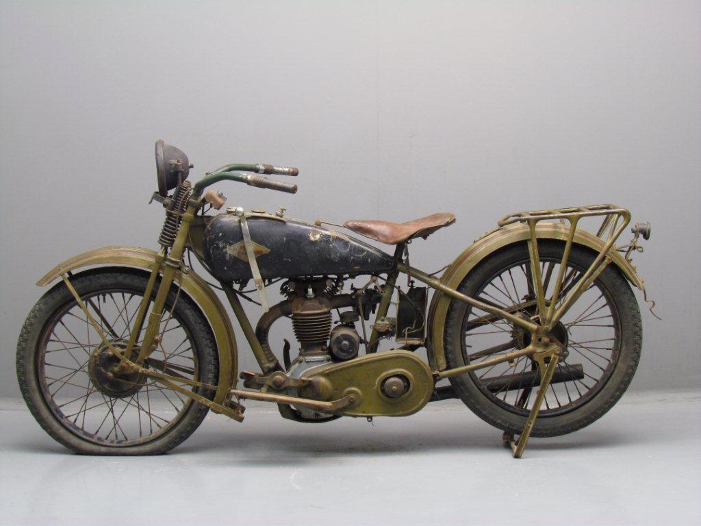 1928 Harley Davidson Ohv 350cc Peashooter: Harley Davidson 1928 28BA 350cc 1 Cyl Ohv