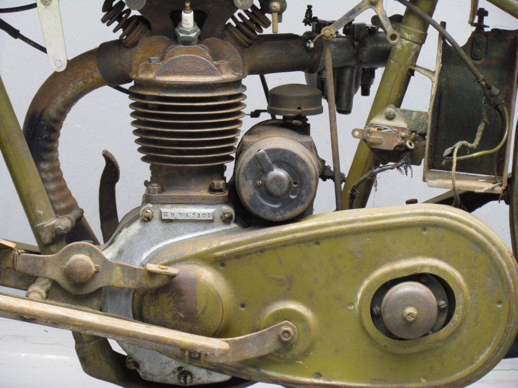 1928 Harley Davidson Ohv Peashooter: Harley Davidson 1928 28BA 350cc 1 Cyl Ohv