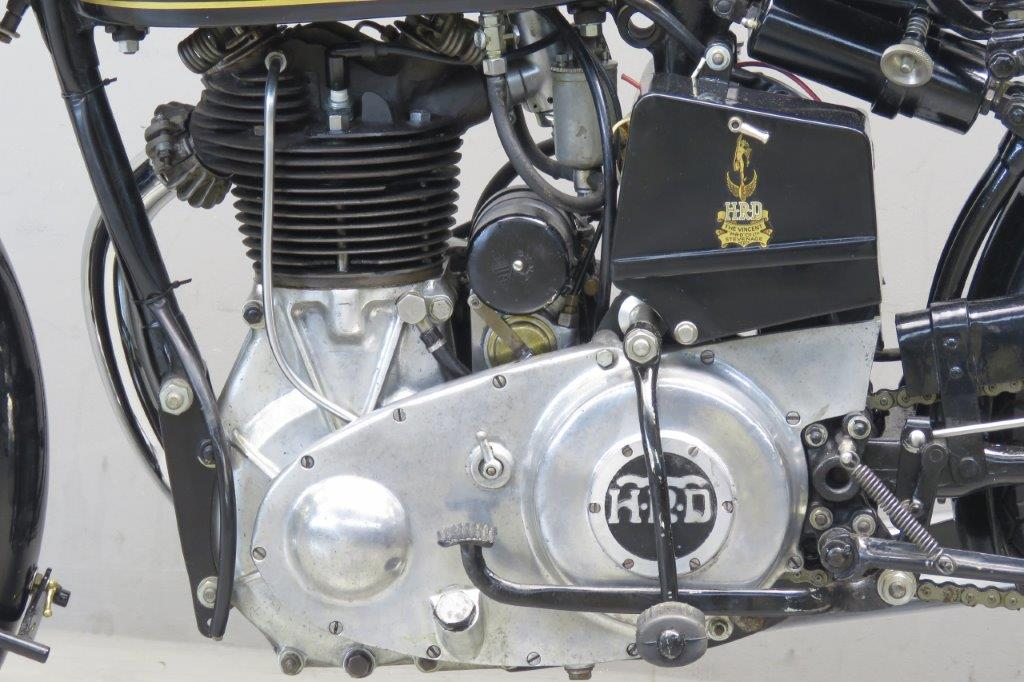 Hrd 1935 Comet 500cc 1 Cyl Ohv 2607 Yesterdays