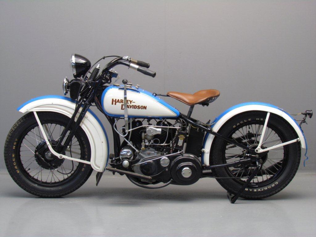 Harley Davidson: Harley Davidson 1932 32R 750cc 2 Cyl Sv