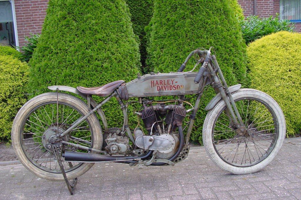 Harley Davidson 1916 Racer 1000 Cc 2 Cyl Ioe
