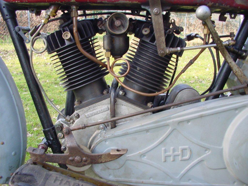 Harley Davidson: Harley Davidson 1923 23J 1000 Cc 2 Cyl Sv